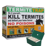 Pack of Termite Traps With Sample