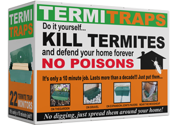 Pack of DIY Termite Traps