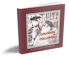 "A book entitled ""Colonies in Collision"" that represents the termites history in Australia."