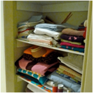 Clothes wardrobe that represents termites and white ants home inspection.